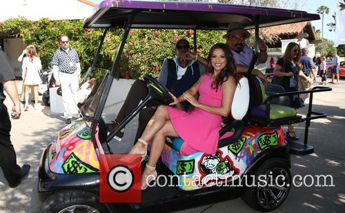 Arsenio Hall, Eva Longoria and George Lopez 3