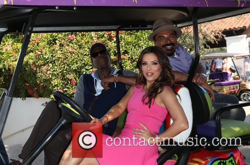 Arsenio Hall, Eva Longoria and George Lopez 5