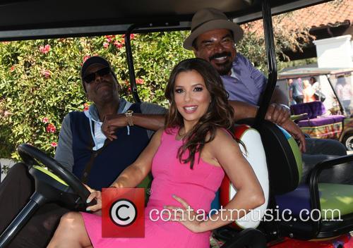 Arsenio Hall, Eva Longoria and George Lopez 6