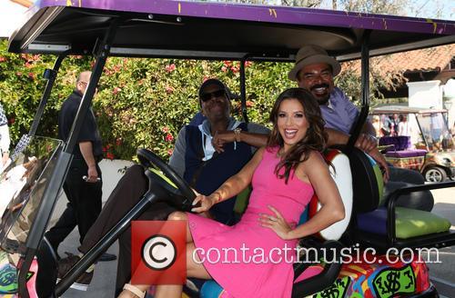 Arsenio Hall, Eva Longoria and George Lopez 7