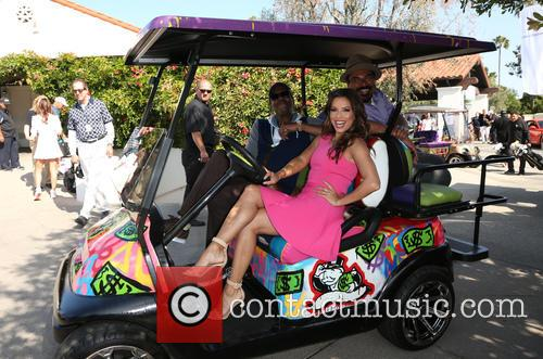 Arsenio Hall, Eva Longoria and George Lopez 8