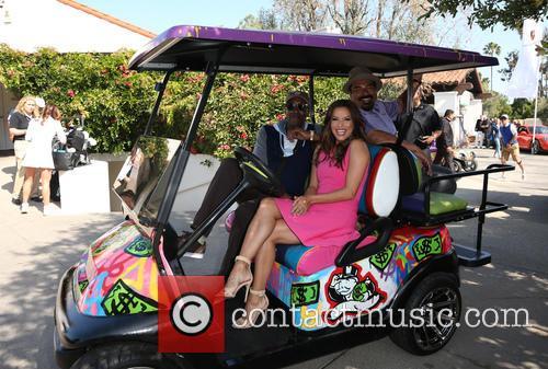 Arsenio Hall, Eva Longoria and George Lopez 9