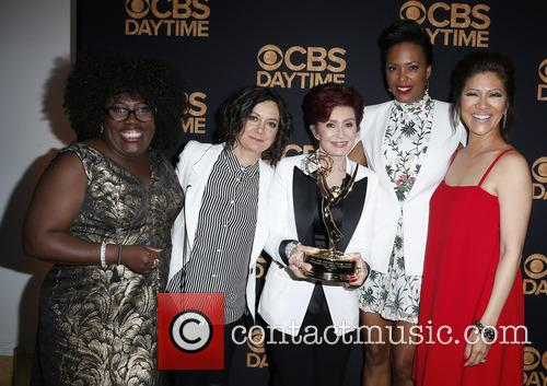 Sheryl Underwood, Sara Gilbert, Sharon Osbourne and Aisha Tyler Julie Chen 1