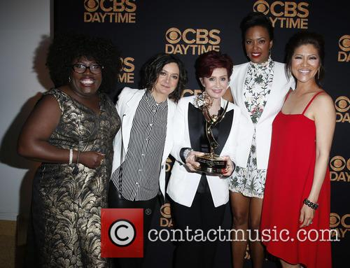Sheryl Underwood, Sara Gilbert, Sharon Osbourne and Aisha Tyler Julie Chen 2