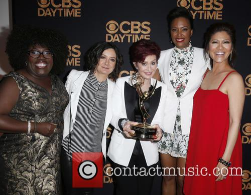 Sheryl Underwood, Sara Gilbert, Sharon Osbourne and Aisha Tyler Julie Chen 3