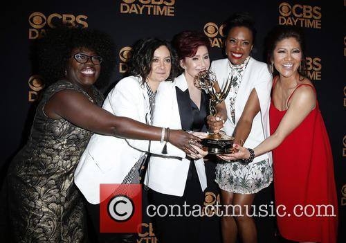 Sheryl Underwood, Sara Gilbert, Sharon Osbourne and Aisha Tyler Julie Chen 5