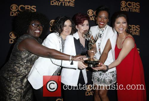 Sheryl Underwood, Sara Gilbert, Sharon Osbourne and Aisha Tyler Julie Chen 6