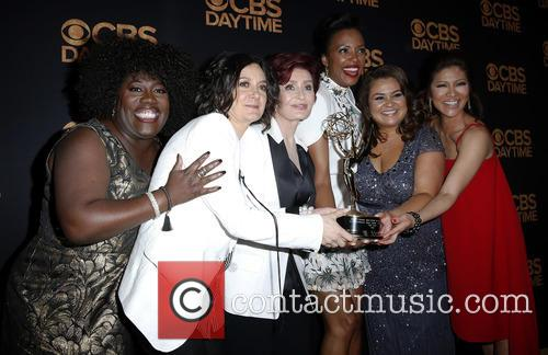 Sheryl Underwood, Sara Gilbert, Sharon Osbourne and Aisha Tyler Julie Chen 7