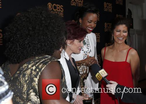 Sheryl Underwood, Sara Gilbert, Sharon Osbourne and Aisha Tyler Julie Chen 8