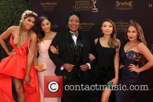 Tamar Braxton, Tamera Mowry-housley, Loni Love, Jeannie Mai and Adrienne Bailon 1