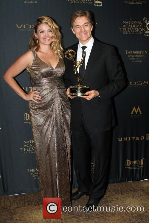 Dr. Mehmet Oz and Daughter Daphne Oz 1