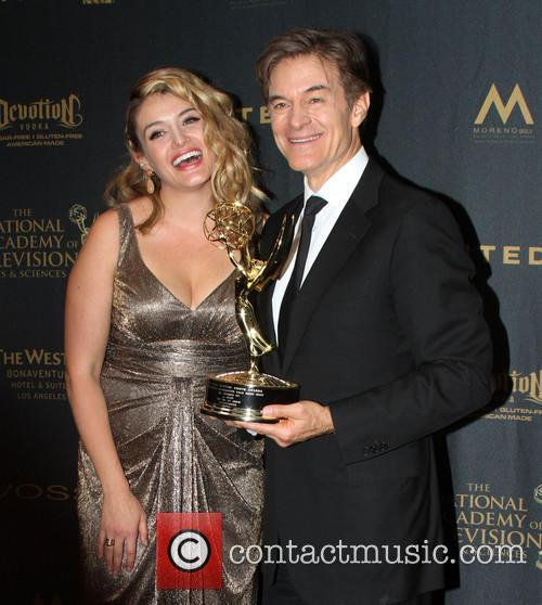 Dr. Mehmet Oz and Daughter Daphne Oz 3