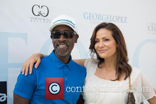 Don Cheadle and Constance Marie 1