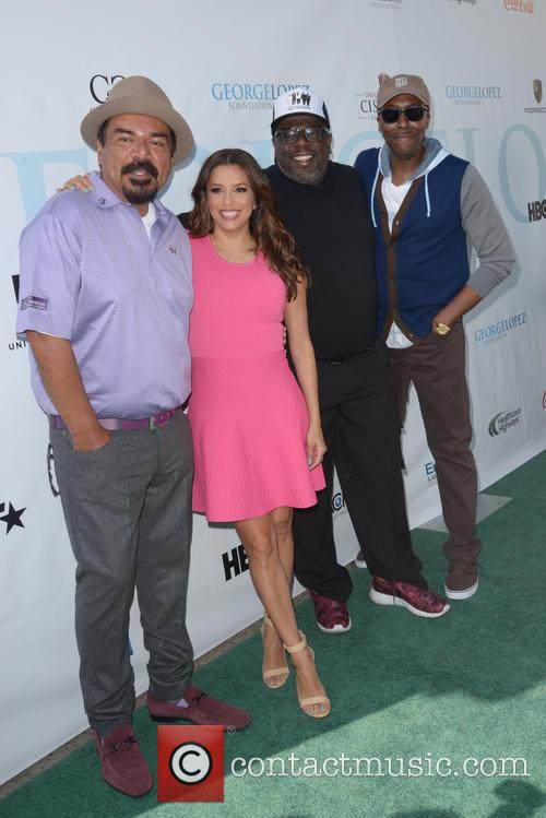 George Lopez, Eva Longoria, Cedric The Entertainer and Arsenio Hall 1