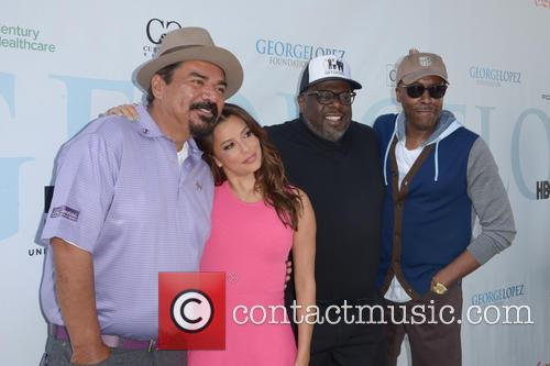 George Lopez, Eva Longoria, Cedric The Entertainer and Arsenio Hall 2