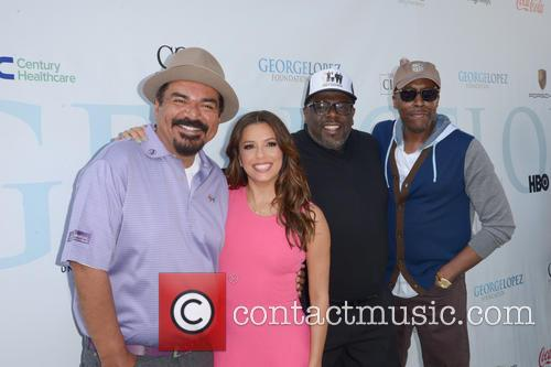 George Lopez, Eva Longoria, Cedric The Entertainer and Arsenio Hall 3