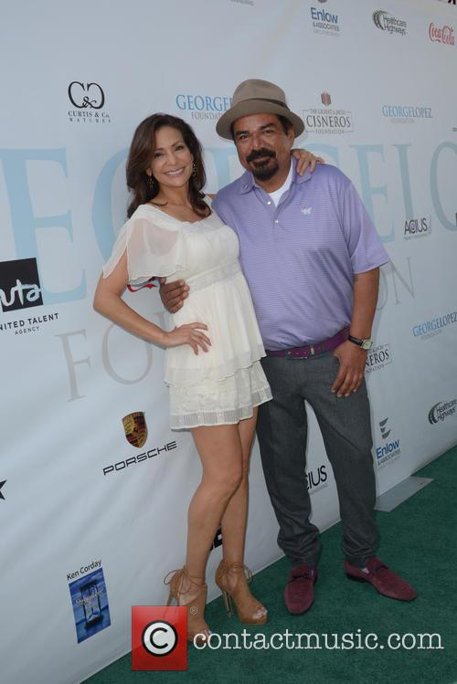 Constance Marie and George Lopez 2