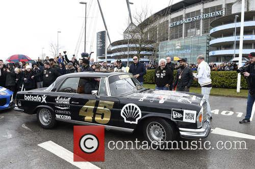 The Gumball 3000 Rally arrives in Manchester