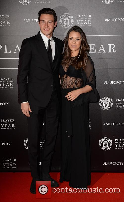 Manchester United, Matteo Darmian and Francesca Cormanni 8
