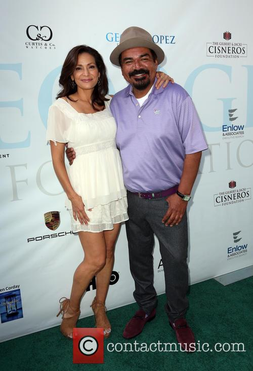 Constance Marie and George Lopez 1