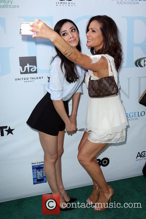 Aimee Garcia and Constance Marie 1