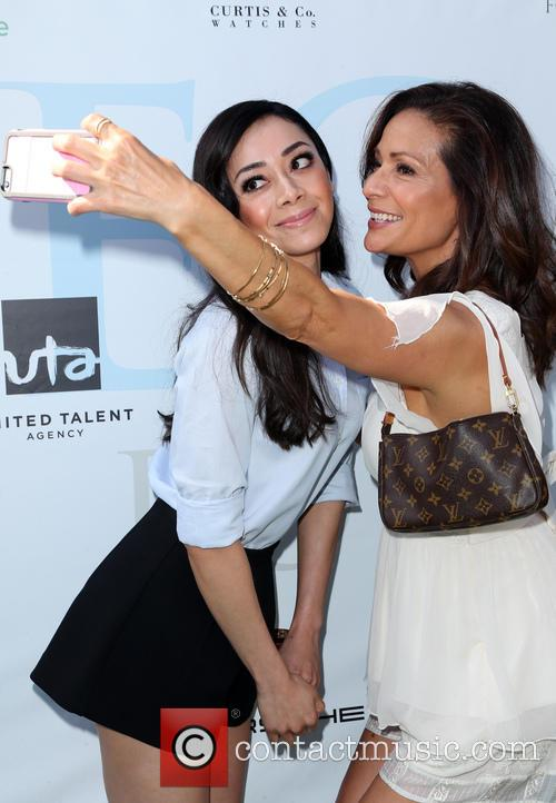 Aimee Garcia and Constance Marie 2