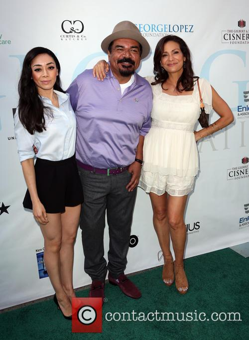 Aimee Garcia, Constance Marie and George Lopez 11