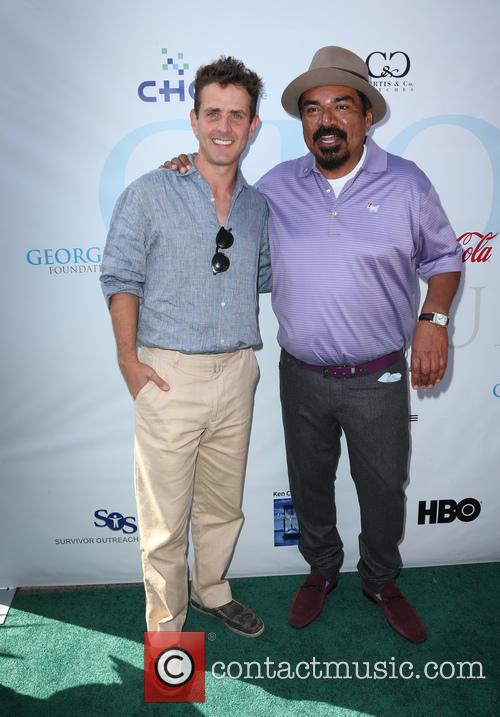 Joey Mcintyre and George Lopez 1