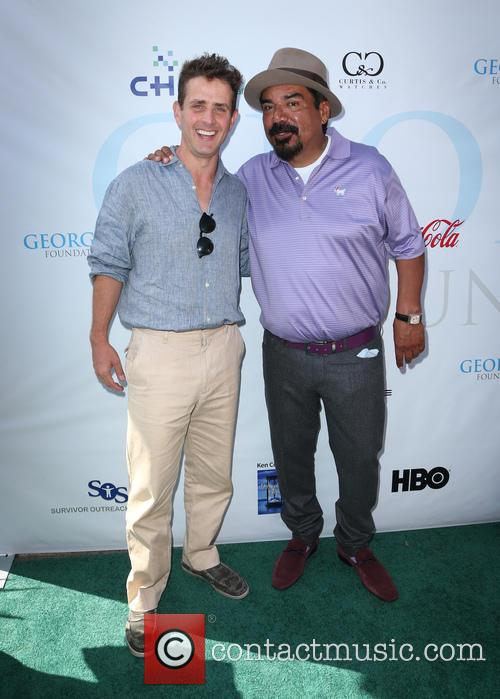 Joey Mcintyre and George Lopez 2