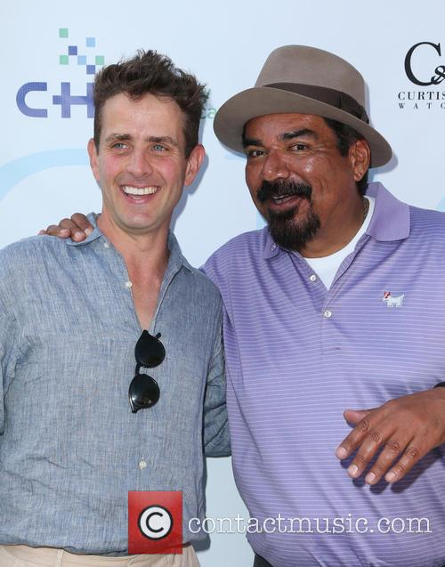 Joey Mcintyre and George Lopez 3