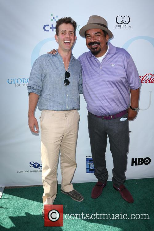 Joey Mcintyre and George Lopez 4