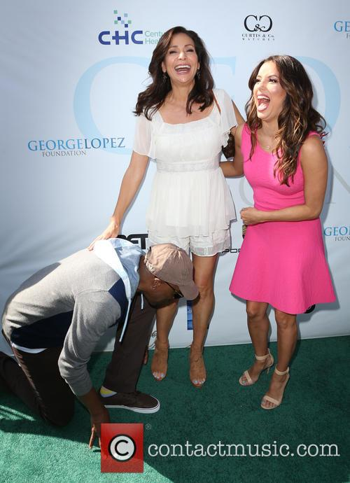 Arsenio Hall, Constance Marie and Eva Longoria 7