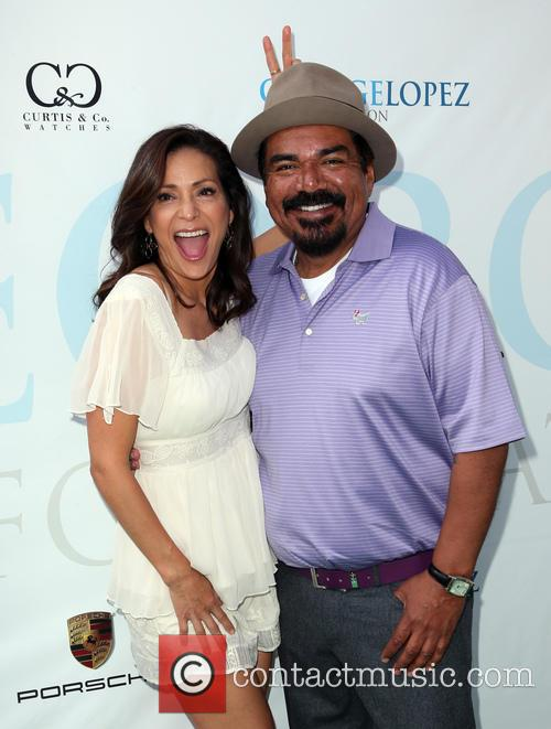 Constance Marie and George Lopez 7