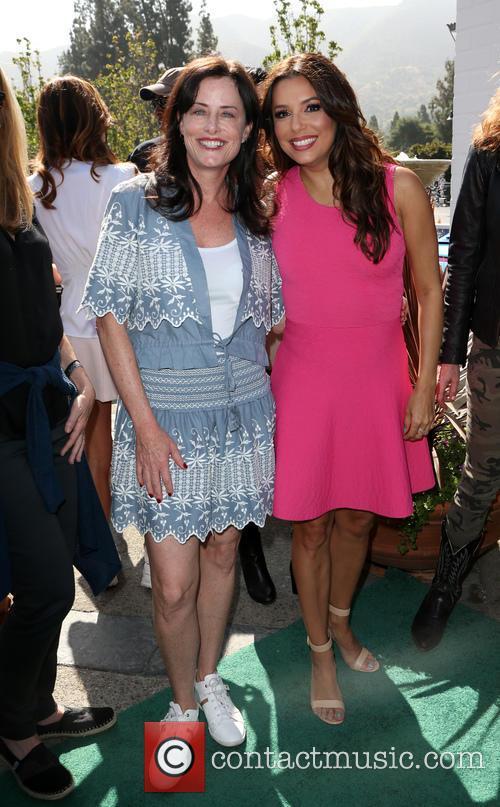 Stacey Kohl and Eva Longoria 2