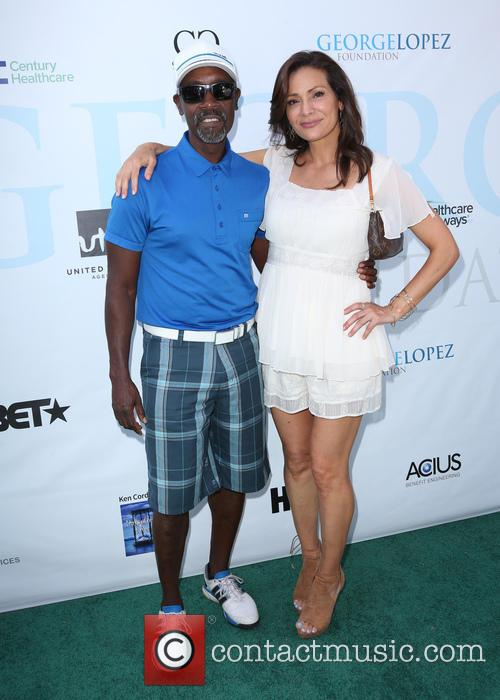 Don Cheadle and Constance Marie 4