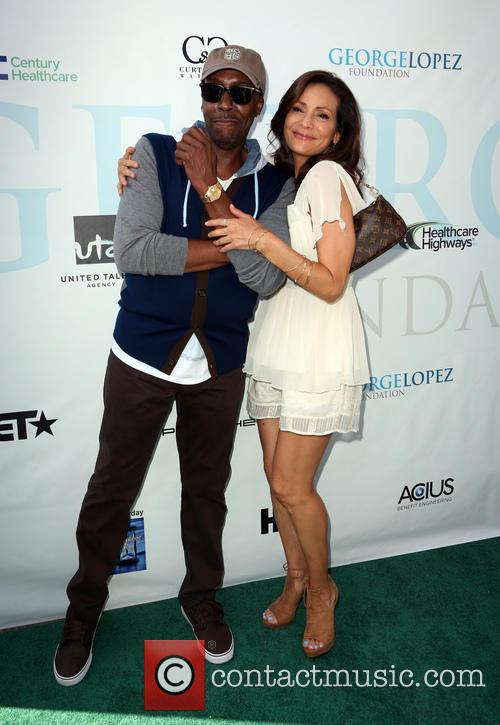 Arsenio Hall and Constance Marie 9