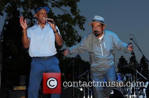 Jeffrey Osborne and George Lopez