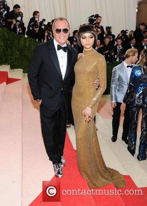 Michael Kors and Zendaya Coleman