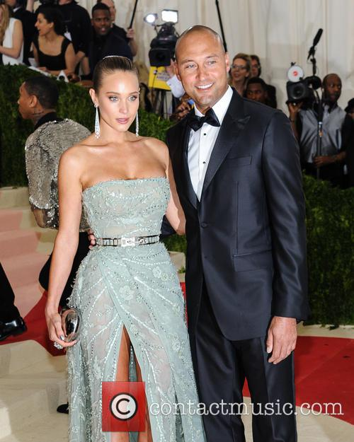 Hannah Davis and Derek Jeter 3
