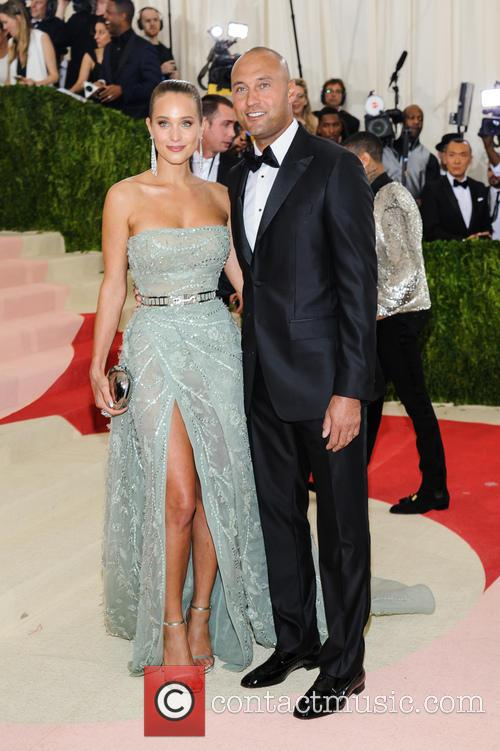 Hannah Davis and Derek Jeter 4