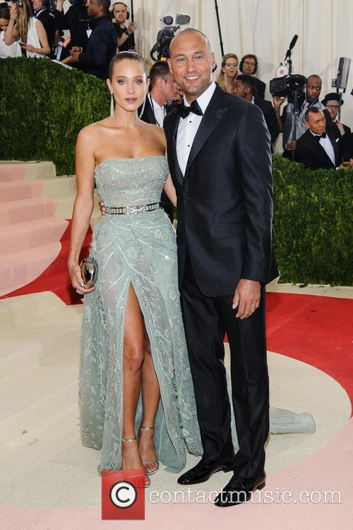 Hannah Davis and Derek Jeter 6