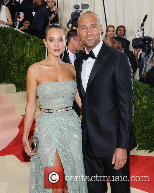 Hannah Davis and Derek Jeter 7