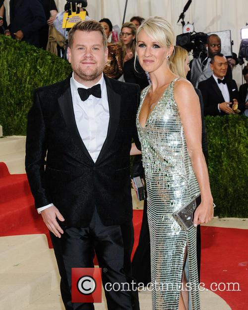 James Corden and Julia Carey 2