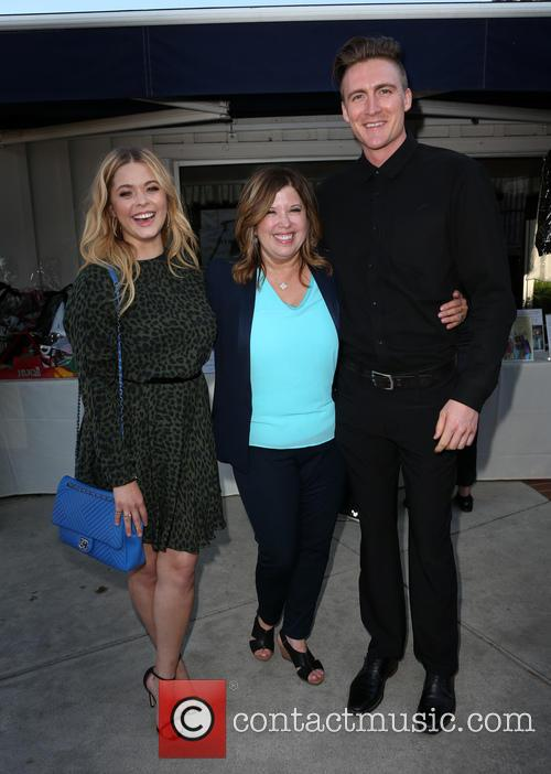 Sasha Pieterse, Linda Small and Hudson Sheaffer 10