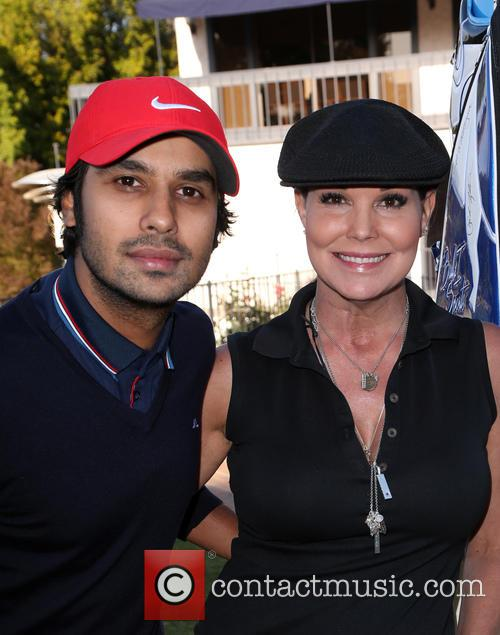 Kunal Nayyar and Paula Trickey 6