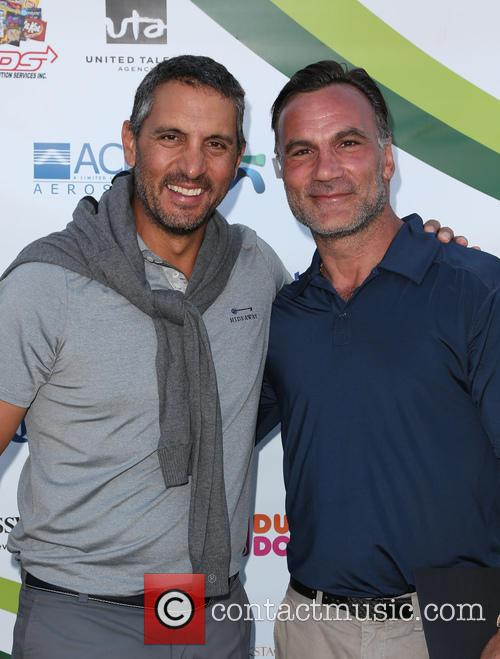 Mauricio Umansky and Jonathan Antin