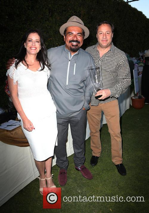 Stacey Kohl, George Lopez and Larry Kohl 1