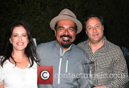 Stacey Kohl, George Lopez and Larry Kohl 2