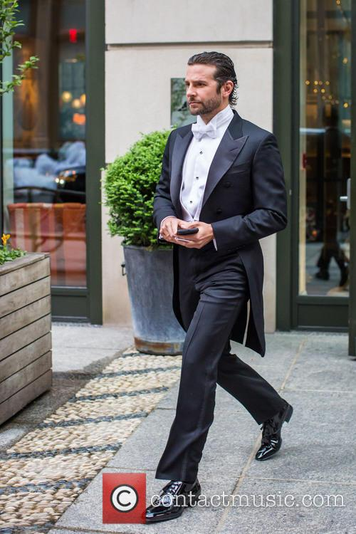 Bradley Cooper heading to the 2016 Met Gala