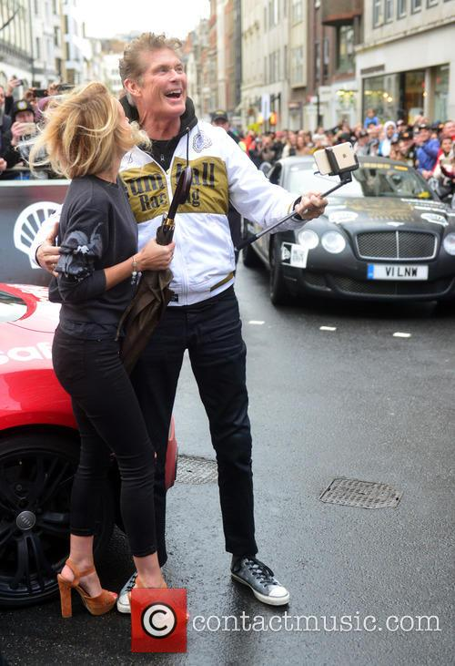Hayley Roberts and David Hasselhoff 4